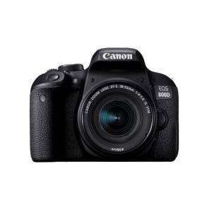Canon EOS 800D Kit m/18-55mm EF-S 18-55mm f/4-5.6 IS STM