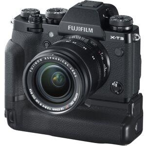 Fujifilm X-T3 Kit XF18-55mm f/2.8-4 R + Fujifilm VG-XT3 batterigrep - Sort