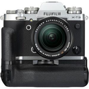 Fujifilm X-T3 Kit XF18-55mm f/2.8-4 R + Fujifilm VG-XT3 batterigrep - Sølv
