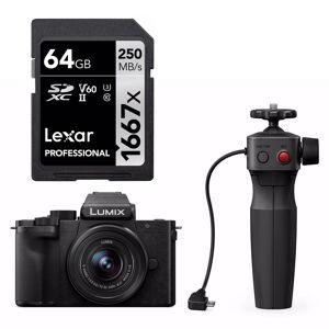 Panasonic LUMIX G100 12-32mm + Grep + Lexar Pro 1667X SDXC UHS-II 64GB