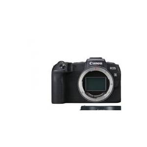 Canon EOS RP Body + EF-EOS R Adapter, 26,2 MP, 6240 x 4160 piksler, CMOS, 4K Ultra HD, Berøringsskjerm, Svart