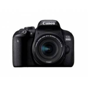 Canon EOS 800D + EF-S 18-55mm f/4-5,6 IS STM svart