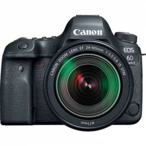 Canon EOS 6D Mark II hus + EF 24-105/3,5-5,6 IS STM