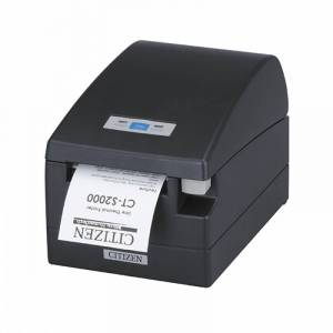 Kvittoskrivare, USB, Snabba utskrifter, Inbyggt stänkskydd, Citizen CT-S2000