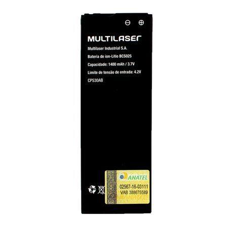 Multilaser Bateria para Smartphone BCS025 - MS40S (P9025, P9026) Multilaser - PR057 PR057