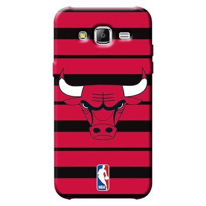 Capinha para Celular NBA - Samsung Galaxy J5 J500 - Chicago Bulls - E30 - Unissex