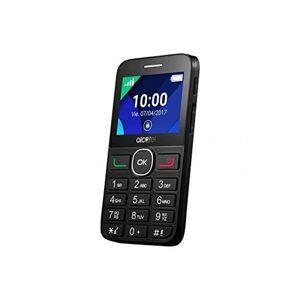 """Alcatel 2008g - Mobiltelefon Til ældre - 2,4"""" Display - 2mp Kamera - Sort"""