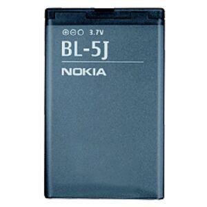 Batteribyen.dk Nokia 5230, 5800 Navigation Edt., 5800 XpressMusic, N900, X6 - BL-5J...