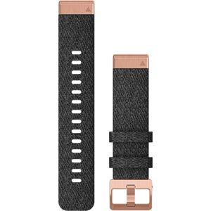 Garmin Quickfit 20mm musta-rose nailonranneke 010-12874-00  - unisex