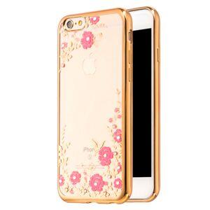 Mobiilitukku Apple iPhone 6 / 6s Diamond Suojakuori, Kulta