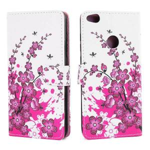 Mobiilitukku Huawei Honor 8 Lite Lompakko Suojakotelo, Kukkapuu
