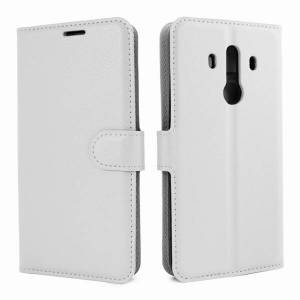 Mobiilitukku Huawei Mate 10 Pro Lompakko Suojakotelo, Valkoinen