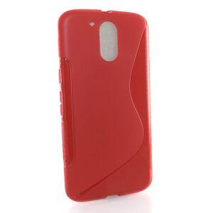 Motorola Moto G4 / G4 Plus suojakuori S-Line, Punainen
