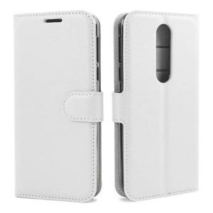 Mobiilitukku OnePlus 8 Lompakko Suojakotelo, Valkoinen
