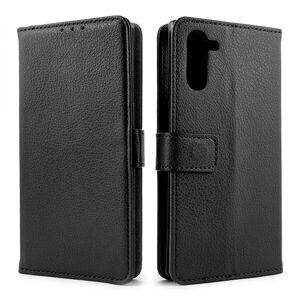 Mobiilitukku Samsung Galaxy Note10 Lompakko Suojakotelo, Musta
