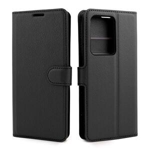 Mobiilitukku Samsung Galaxy S20 Ultra Lompakko Suojakotelo, Musta