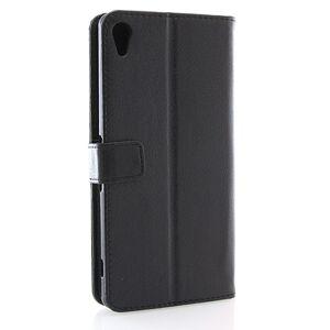 Mobiilitukku Sony Xperia XA Ultra Lompakko Suojakotelo, Musta