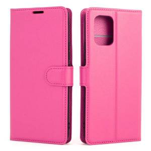 Mobiilitukku Xiaomi Mi 10 Lite 5G Lompakko Suojakotelo, Pinkki