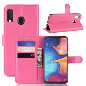 Puhelimenkuoret.fi Samsung Galaxy A20e Kotelo PU-Nahka Pinkki