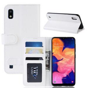 Puhelimenkuoret.fi Samsung Galaxy A10 Lompakkokotelo Valkoinen
