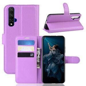 Huawei Honor 20 Suojakotelo PU-Nahka Violetti