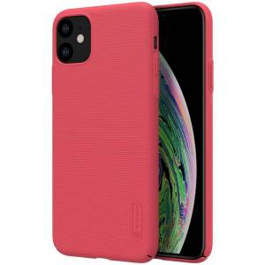 Puhelimenkuoret.fi Apple iPhone 11 Suojakuori Nillkin Frosted Punainen