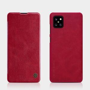 Puhelimenkuoret.fi Samsung Galaxy Note 10 Lite Kotelo Nillkin Qin Punainen