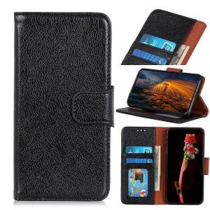 Puhelimenkuoret.fi Samsung Galaxy Note 10 Lite Nahkakotelo Musta