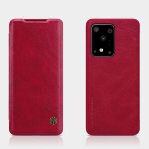 Puhelimenkuoret.fi Samsung Galaxy S20 Ultra 5G Kotelo Nillkin Qin Punainen