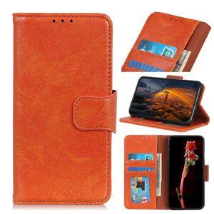 Puhelimenkuoret.fi Samsung Galaxy S20 Ultra 5G Nahkakotelo Oranssi