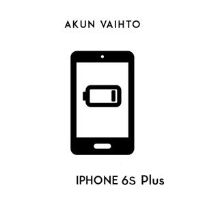 Digishop.fi iPhone huolto - Apple iPhone 6S Plus Akun vaihto