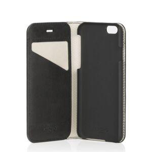 Muut KNOMO Premium Folio iPhone 6  Musta