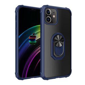 INCOVER Iphone 12 Mini Drop Proof Deksel M. Magnetisk Stativ - Gjennomsiktig / Blå