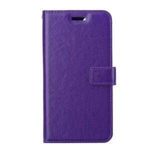 INCOVER Iphone 12 Pro Max Skinn Flip Deksel Med Lommebok - Lilla