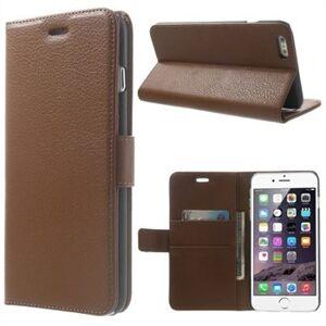 INCOVER Iphone 6/6s/7 Plus Deluxe Flip Deksel Med Lommebok - Brun