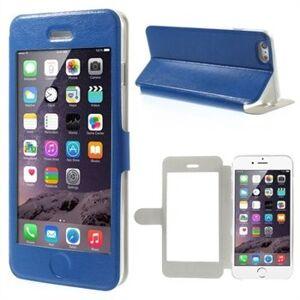 INCOVER Iphone 6/6s/7 Plus Full Window Flip Deksel - Blå