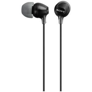 Sony Hodetelefoner in-ear MDR-EX15LP Svart  4905524931181 Replace: N/A