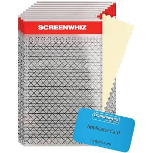 ScreenWhiz høy styrke Screen Protector for store enheter - 10 embal...
