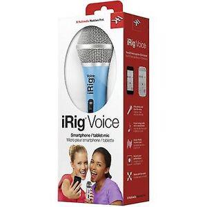 IK Multimedia Håndholdt mikrofon (vokal) IK Multimedia iRig stemme Overføringstyp...