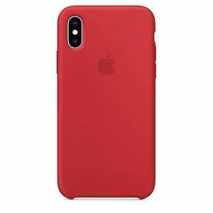 Apple iPhone XS silikon Case - (PRODUCT) RED