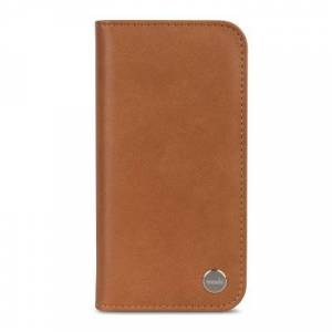 Moshi Overture Leather Wallet Case iPhone X/XS Caramel Brown iPhone X/XS
