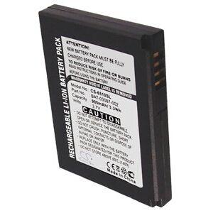 Blackberry 7280 batteri (900 mAh, Sort)