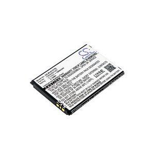 Blu D140K batteri (1000 mAh, Sort)