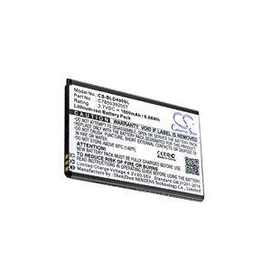 Blu D090U batteri (1800 mAh, Sort)