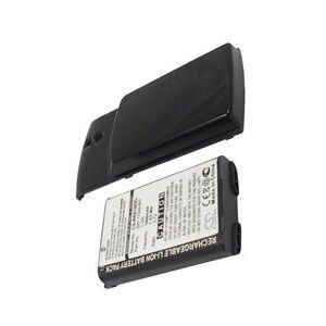 Blackberry 8100r batteri (1900 mAh, Sort)