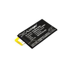 Blackberry BBB100-1 batteri (3400 mAh, Sort)