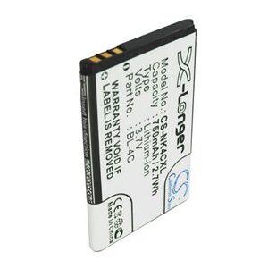 Blu Gol batteri (750 mAh, Sort)