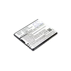 Blu Batteri (1400 mAh, Sort) passende til Blu D190