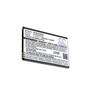 Blu Batteri (1800 mAh, Sort) passende til Blu D490U