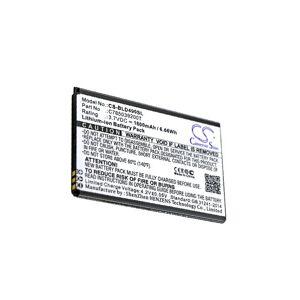 Blu Batteri (1800 mAh, Sort) passende til Blu D110U